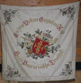 Fahne des Deutschen Turnvereins Schirnding